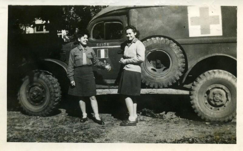 Huguette Civet, ambulancière dans l'armée de la libération – témoignage –  VRID Mémorial